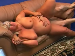 Fat mom sucks for sex in her hairy..