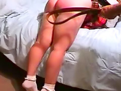 Schoolgirl spanked by older man
