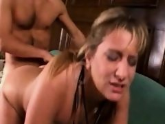 Naughty teacher gets fucked by her..