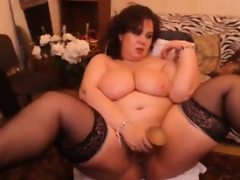 Large mature cam slut