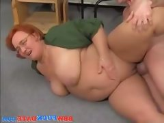 German fat older lady get fucked hard