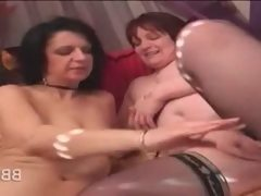Bbw lesbo hotties using sex toys to..