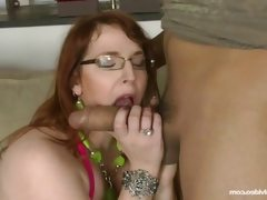 Bbw milf has fun with a big cock