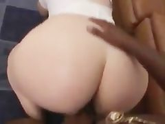 Phat white nurse sucks and swallows..