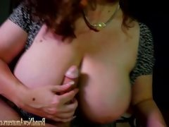 Massive tits milf gets anal sex during..