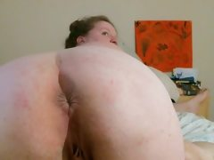 Bbw facesitting and riding cock creampie