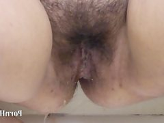 Irina bbw, pissing in the shower