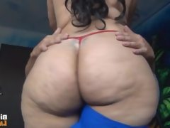 Latina fucks liddle dick