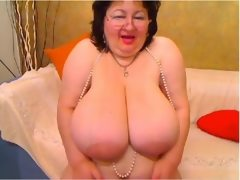 Natural boobed fluffy madame french..