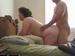 Fat housewife fucked doggystyle