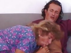 Bbw milf & young man