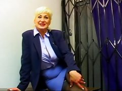 Big titted mature business lady dana..