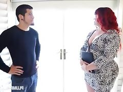 Redhead pawg marcy diamond fucks young..