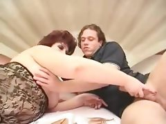 Granny bbw hardcore fucking in bed