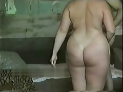 Russian bbw homemade