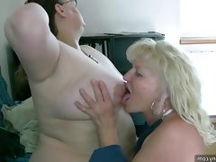 Sexy chubby mature and bbw granny