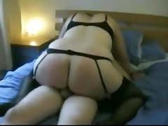 Hot fat bbw ex gf with big ass riding..